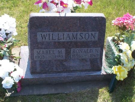 WILLIAMSON, MABEL M. - Poweshiek County, Iowa | MABEL M. WILLIAMSON