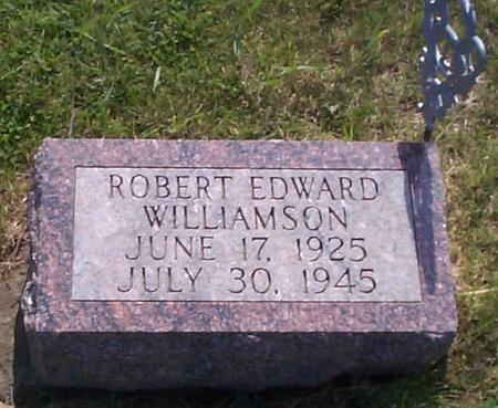 WILLIAMSON, ROBERT EDWARD - Poweshiek County, Iowa | ROBERT EDWARD WILLIAMSON