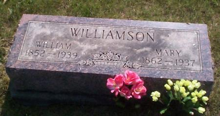 WILLIAMSON, MARY - Poweshiek County, Iowa | MARY WILLIAMSON