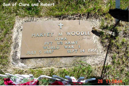 WOODLE, HARVEY M. - Poweshiek County, Iowa | HARVEY M. WOODLE