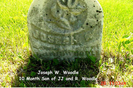 WOODLE, JOSEPH W. - Poweshiek County, Iowa | JOSEPH W. WOODLE