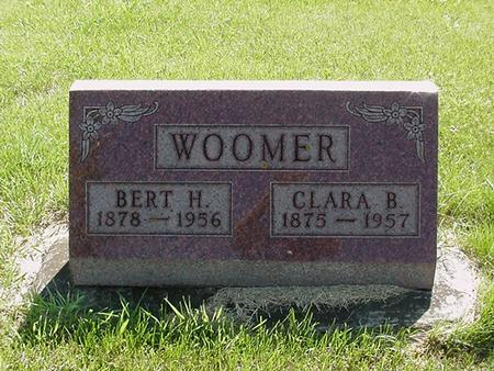 WOOMER, CLARA - Poweshiek County, Iowa | CLARA WOOMER