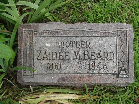 LESAN BEARD, ZAIDEE M. - Ringgold County, Iowa | ZAIDEE M. LESAN BEARD