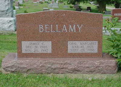 O'DELL BELLAMY, OPAL MARGARET - Ringgold County, Iowa | OPAL MARGARET O'DELL BELLAMY