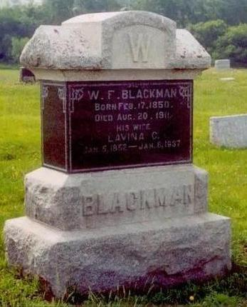 BLACKMAN, WILLIAM FRANCES - Ringgold County, Iowa | WILLIAM FRANCES BLACKMAN