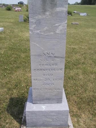 CORNELISON, ANN - Ringgold County, Iowa | ANN CORNELISON