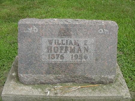 HOFFMAN, WILLIAM E. - Ringgold County, Iowa | WILLIAM E. HOFFMAN