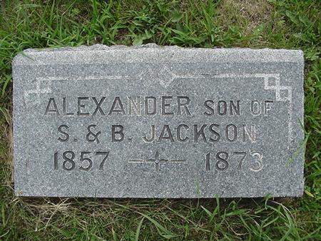 JACKSON, ALEXANDER - Ringgold County, Iowa | ALEXANDER JACKSON