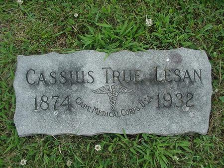 LESAN, CASSIUS TRUE - Ringgold County, Iowa | CASSIUS TRUE LESAN
