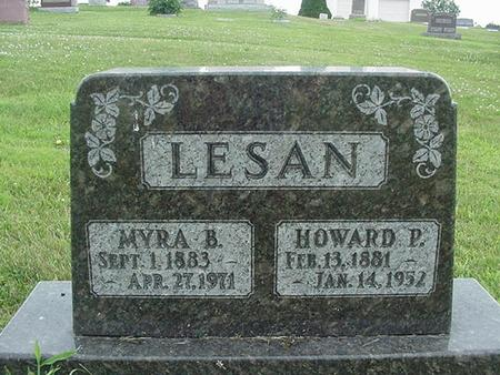 LESAN, HOWARD P. - Ringgold County, Iowa | HOWARD P. LESAN