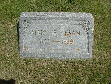LESAN, MARY ENNIS (BEARD) - Ringgold County, Iowa | MARY ENNIS (BEARD) LESAN