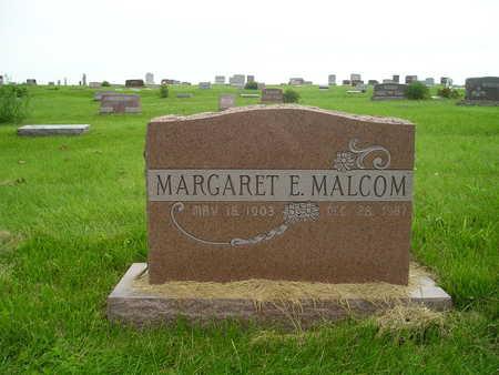 MALCOM, MARGARET E. - Ringgold County, Iowa | MARGARET E. MALCOM