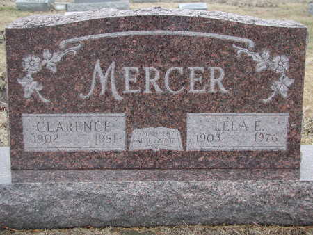 JOHNSON MERCER, LELA E. - Ringgold County, Iowa | LELA E. JOHNSON MERCER