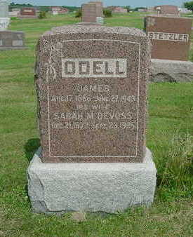 O'DELL, JAMES - Ringgold County, Iowa | JAMES O'DELL