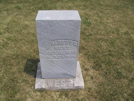 WEST, ALBERT G. - Ringgold County, Iowa | ALBERT G. WEST