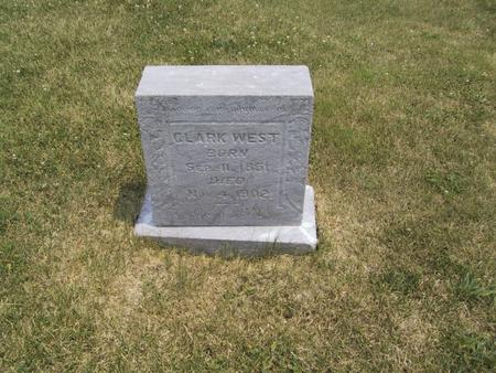 WEST, CLARK - Ringgold County, Iowa | CLARK WEST