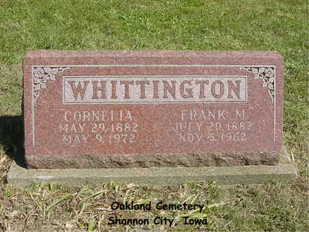 WHITTINGTON, CORNELIA - Ringgold County, Iowa | CORNELIA WHITTINGTON