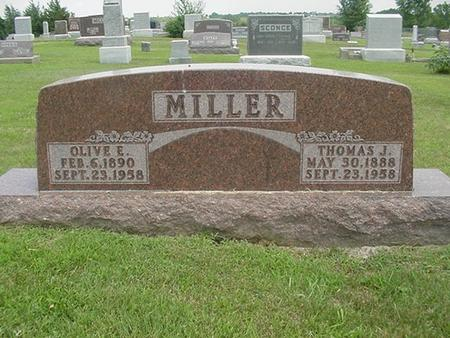 MILLER, THOMAS J. - Ringgold County, Iowa | THOMAS J. MILLER