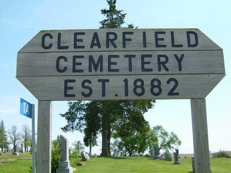 CLEARFIELD, CEMETERY - Ringgold County, Iowa | CEMETERY CLEARFIELD