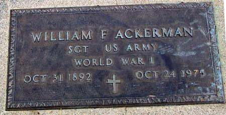 ACKERMAN, WILLIAM - Sac County, Iowa | WILLIAM ACKERMAN