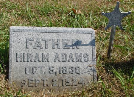 ADAMS, HIRAM - Sac County, Iowa | HIRAM ADAMS