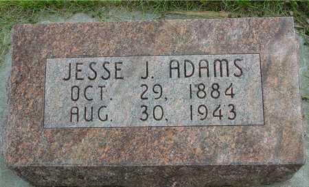 ADAMS, JESSE J. - Sac County, Iowa | JESSE J. ADAMS