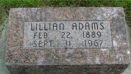ADAMS, LILLIAN - Sac County, Iowa | LILLIAN ADAMS