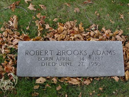 ADAMS, ROBERT BROOKS - Sac County, Iowa | ROBERT BROOKS ADAMS