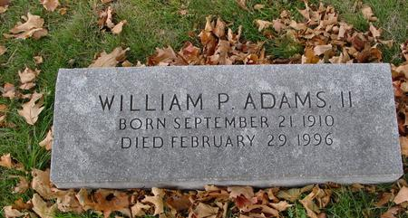 ADAMS, WILLIAM P., II - Sac County, Iowa | WILLIAM P., II ADAMS
