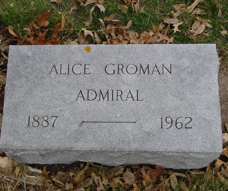 ADMIRAL, ALICE - Sac County, Iowa | ALICE ADMIRAL