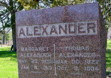 ALEXANDER, TOM &  MARGARET - Sac County, Iowa | TOM &  MARGARET ALEXANDER