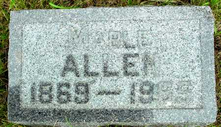 ALLEN, MABLE - Sac County, Iowa | MABLE ALLEN