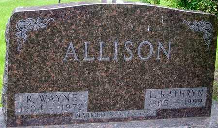 ALLISON, R. WAYNE & KATHRYN - Sac County, Iowa | R. WAYNE & KATHRYN ALLISON