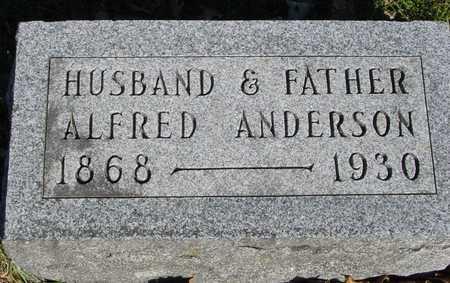 ANDERSON, ALFRED - Sac County, Iowa | ALFRED ANDERSON
