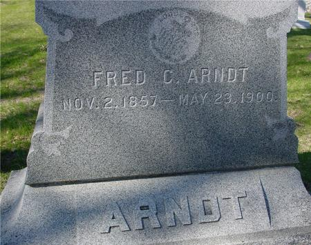 ARNDT, FRED C. - Sac County, Iowa | FRED C. ARNDT