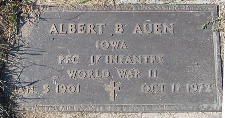 AUEN, ALBERT B. - Sac County, Iowa | ALBERT B. AUEN