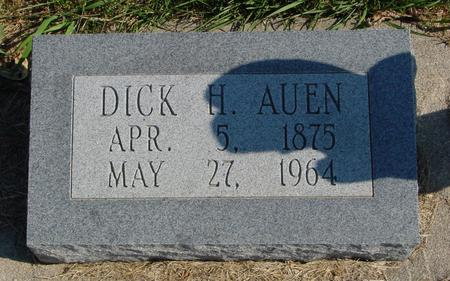 AUEN, DICK H. - Sac County, Iowa | DICK H. AUEN