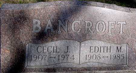 BANCROFT, CECIL & EDITH - Sac County, Iowa | CECIL & EDITH BANCROFT