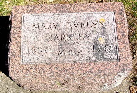 BARKLEY, MARY EVELYN - Sac County, Iowa | MARY EVELYN BARKLEY