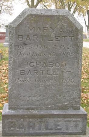 BARTLETT, ICHABOD & MARY A. - Sac County, Iowa | ICHABOD & MARY A. BARTLETT