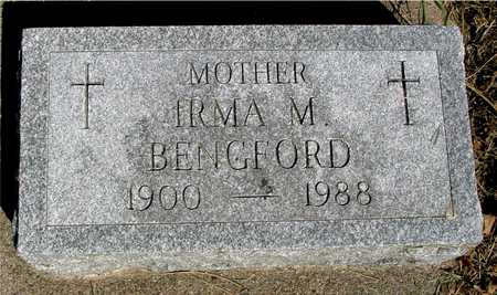 BENGFORD, IRMA M. - Sac County, Iowa | IRMA M. BENGFORD