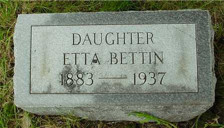 BETTIN, ETTA - Sac County, Iowa | ETTA BETTIN