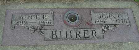BIHRER, JOHN & ALICE - Sac County, Iowa | JOHN & ALICE BIHRER
