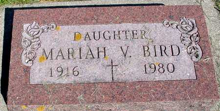 BIRD, MARIAH V. - Sac County, Iowa | MARIAH V. BIRD
