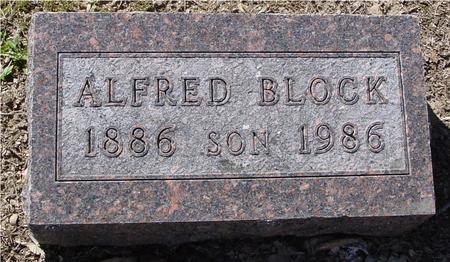 BLOCK, ALFRED - Sac County, Iowa | ALFRED BLOCK