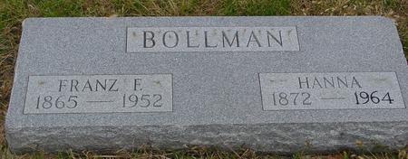 BOLLMAN, FRANZ & HANNA - Sac County, Iowa | FRANZ & HANNA BOLLMAN