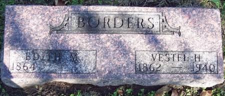 BORDERS, VESTEL H - Sac County, Iowa | VESTEL H BORDERS