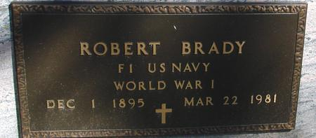 BRADY, ROBERT - Sac County, Iowa   ROBERT BRADY