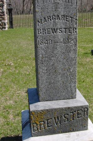 BREWSTER, MARGARETT - Sac County, Iowa | MARGARETT BREWSTER