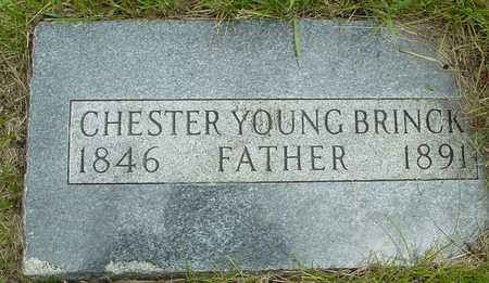 BRINCK, CHESTER YOUNG - Sac County, Iowa   CHESTER YOUNG BRINCK